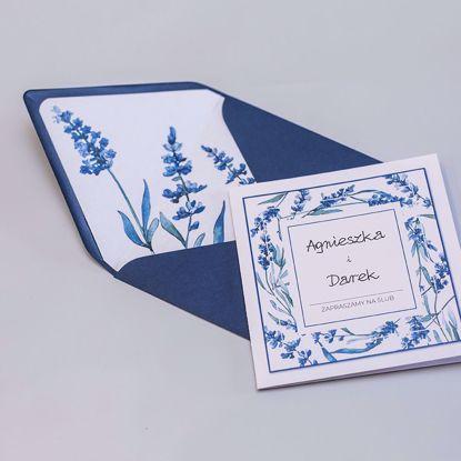 Zaproszenia ślubne Lawenda
